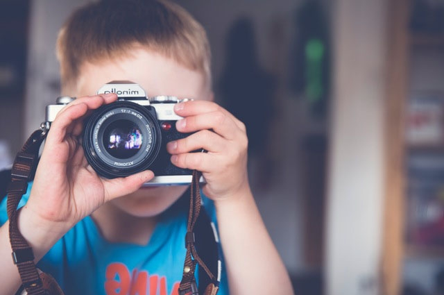 boy with camera image